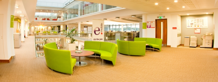 Eircom - Shaw carpet tiles