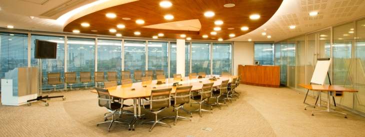 Eircom boardroom - carpet tiles