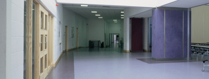 St Attracta's School corridor