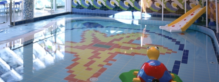 Wesport Leisure Centre - ceramic tiles